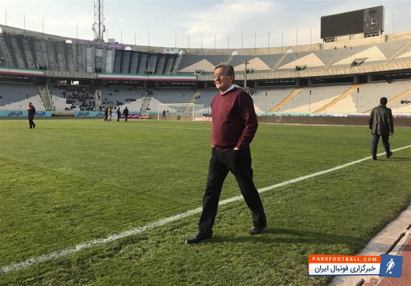 سرمشق های جدید برانکو ایوانکوویچ در تیم پرسپولیس ؛ پارس فوتبال