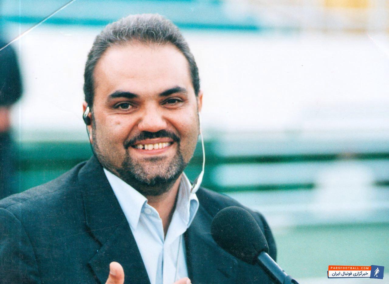 عذرخواهی جواد خیابانی گزارشگر تلویزیون از سرمربی پرسپولیس