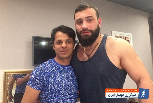 زویادی پاتاریدزه : اطلاعات زیادی از سنگین وزنهای ایران ندارم ؛ پارس فوتبال