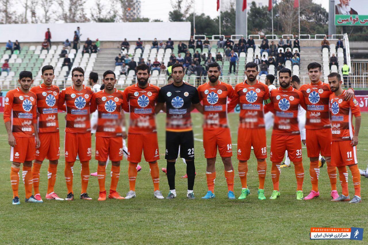 عکس تیمی متفاوت نارنجی پوشان ؛ اقدامی جالب در بازی امروز سایپا و سپاهان