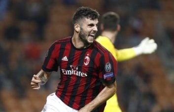 پاتریک کوترونه مهاجم 19 ساله میلان که به عنوان یار جانشین به میدان آمد، تک گل بازی را به ثمر رساند و تیمش را به نیمه نهایی کوپا ایتالیا مقابل لاتزیو رساند.