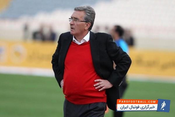 فدراسیون فوتبال - برانکو سرمربی تیم فوتبال پرسپولیس دیگر صحبتی در مورد تیم ملی انجام نمی دهد