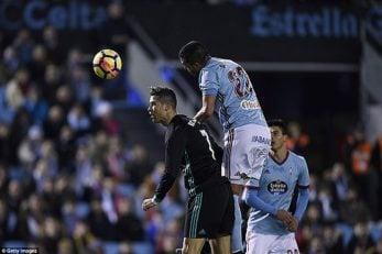 عملکرد کریستیانو رونالدو در دیدار مقابل سلتاویگو