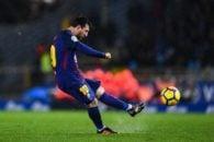 5 ضربه ایستگاهی تماشایی و فوق العاده از لیونل مسی ستاره تیم فوتبال بارسلونا