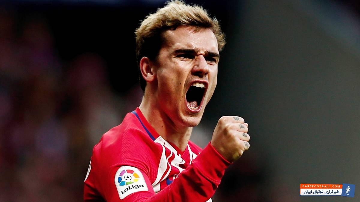 گریزمان ؛ آ اس: تماس اتلتیکو مادرید با بارسلونا بر سر آینده گریزمان