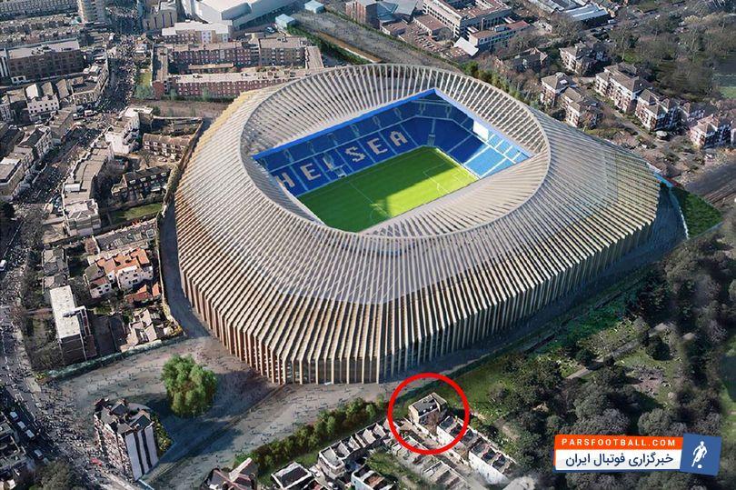 عکس ؛ عجیب ولی واقعی ؛ پشت پرده توقف ساخت گرانقیمت ترین ورزشگاه اروپا
