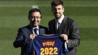 جرارد پیکه مدافع30 ساله بارسا ابراز امیدواری کرد تا پایان قراردادش برای این تیم بازی کند.پیکه :بارسلونا برای من مانند خانه بوده و باشگاهی برای همه زندگی من.
