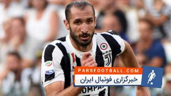 مهارت های دفاعی برتر کیه لینی مدافع مستحکم تیم فوتبال یوونتوس ایتالیا