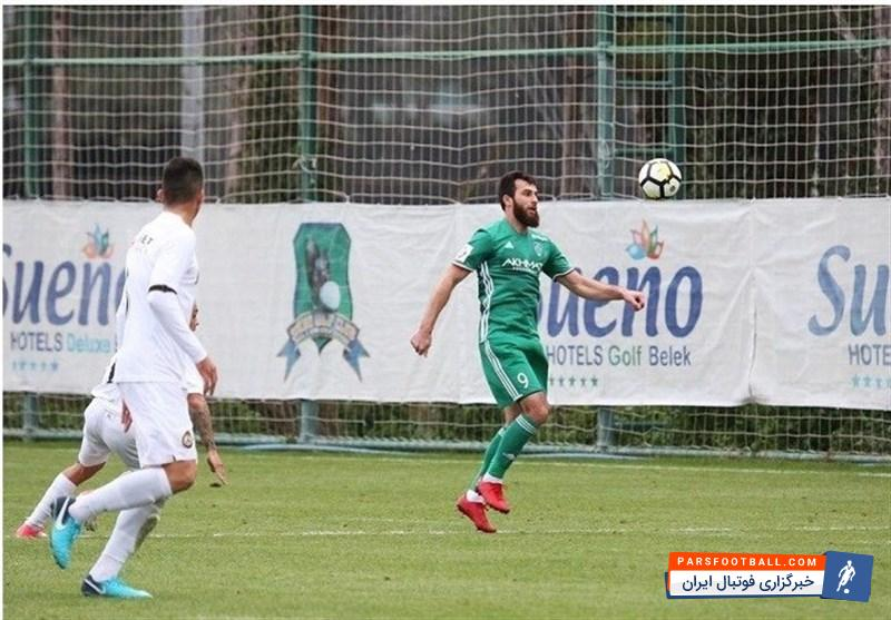میلاد محمدی در دیدار دوستانه به پیروزی رسید ؛ احمد گروژنی 3- صوفیا اسلواکی 1