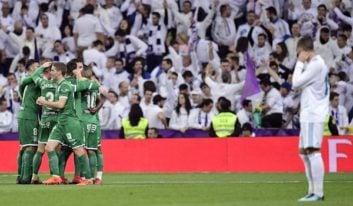 رئال مادرید در دیدار برابر لگانس شکست خود و از جام حذفی اسپانیا کنار رفت