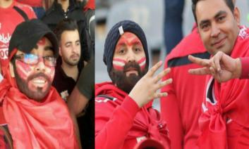 پس از انتشار تصاویر شبنم، دختری که در اهواز با رنگ کردن صورت و گریم در ورزشگاه به تماشای بازی فولاد خوزستان ـ پرسپولیس رفته بود ...