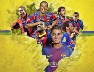 کوتینیو به جمع برزیلی های تاریخ بارسلونا اضافه شد تا پس از روماریو، رونالدو، ریوالدو، رونالدینیو، دنی آلوس و نیمار هفتمین برزیلی سرشناس بارسلونا لقب گیرد.