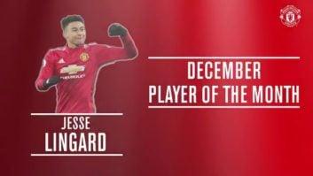 جسی لینگارد به عنوان برترین بازیکن منچستر یونایتد