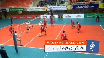 درگیری در دربی والیبال مازندران