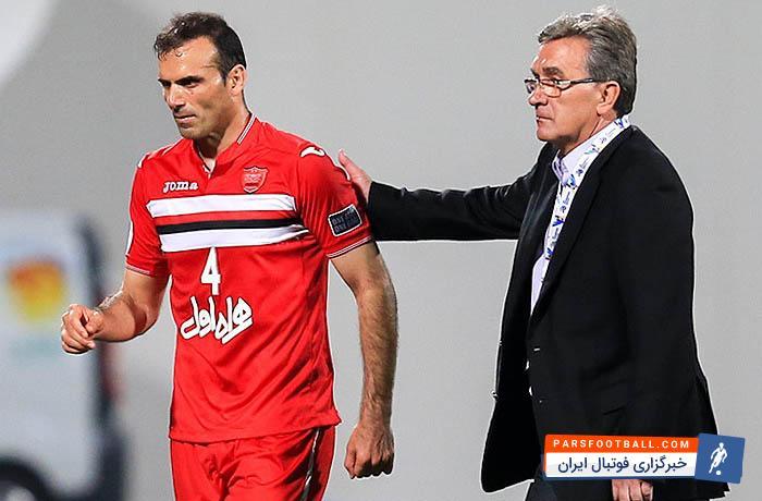 سید جلال حسینی در دیدار پرسپولیس برابر سپاهان به رکورد 100 بازی برای قرمز ها می رسد
