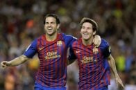 سسک فابرگاس تنها 3 سال در کنار لیونل مسی در بارسلونا بازی کرد