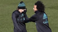مودریچ و مارسلو دو بازیکن تیم فوتبال رئال مادرید با مصدومیت روبرو شده اند