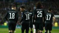 جلسه بازیکنان پی اس جی برای بررسی علل شکست برابر تیم رئال مادرید