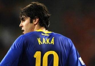چالش تماشایی هدف گیری تیرک همراه با ستاره سابق میلان و رئال مادرید ریکاردو کاکا