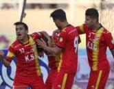 زهیوی با گلزنی در دقایق آخر بازی فولاد خوزستان و صنعت نفت ، توانست در مقابل تیم سابقش موفق به گلزنی شود اما او مانند دیدار رفت با گریه و اشک راهی رختکن تیمش شد.