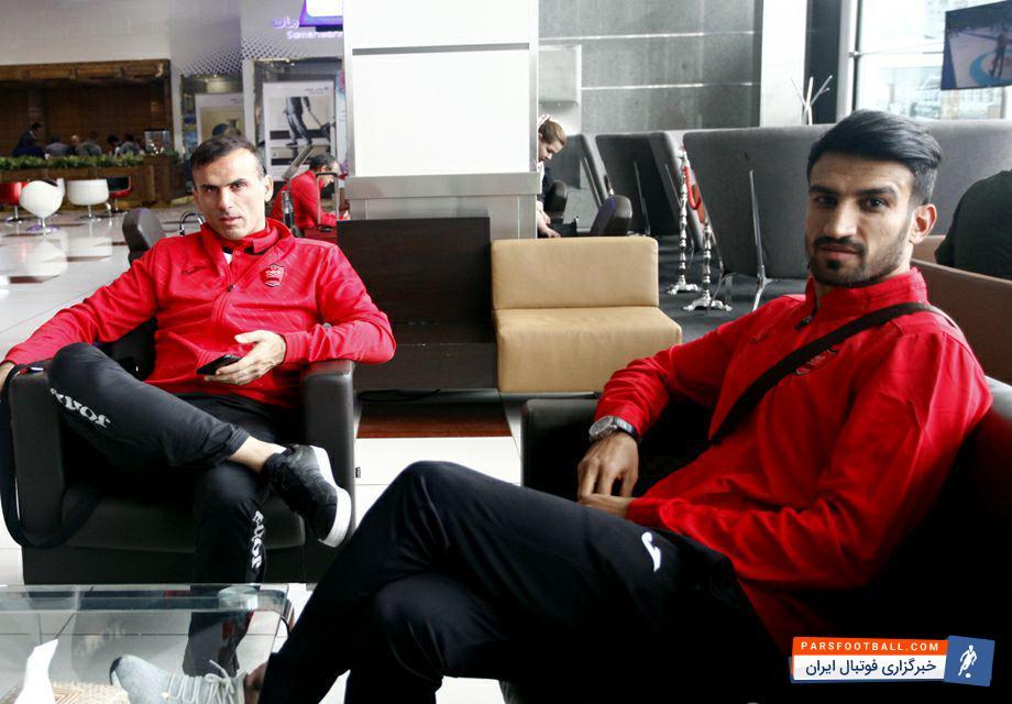 عکس ؛ صمیمیت کاپیتان های پرسپولیس در تهران و قطر