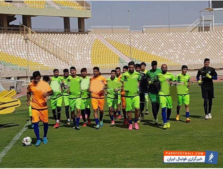 عکس ؛ استقلال خوزستان برای دیدار با پرسپولیس آماده می شود