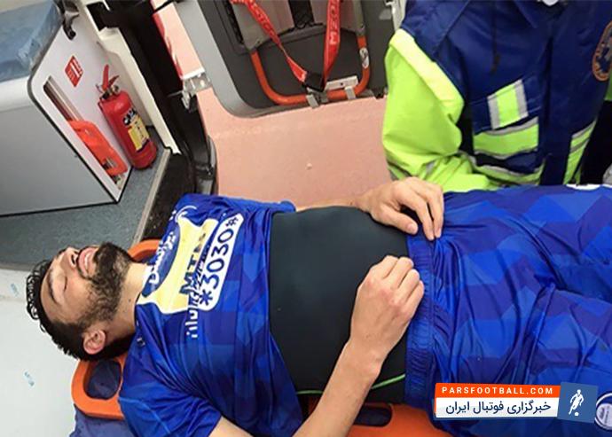 تصویری متاثرکننده از آسیب شدید وارد شده به مهره گردن پادوانی ؛ پارس فوتبال
