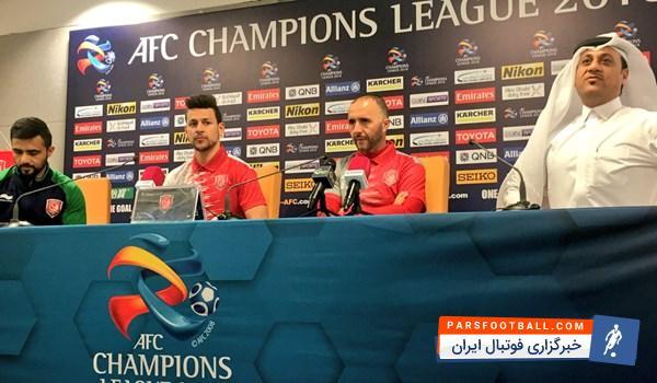 جمال بلماضی ، سرمربی الدحیل قطر در نشست خبری پیش از دیدار با ذوب آهن گفت : اولین بازی ما در لیگ قهرمانان آسیا در خانه خودمان مقابل تیم ذوب آهن است.
