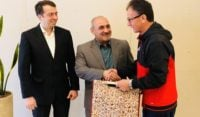 مدیران دو باشگاه پرسپولیس و نسف قارشی در اردوی پیش از دیدار دو تیم ایران و ازبکستانی با یکدیگر دیدار کردند.ملاقات مدیران دو باشگاه پرسپولیس...