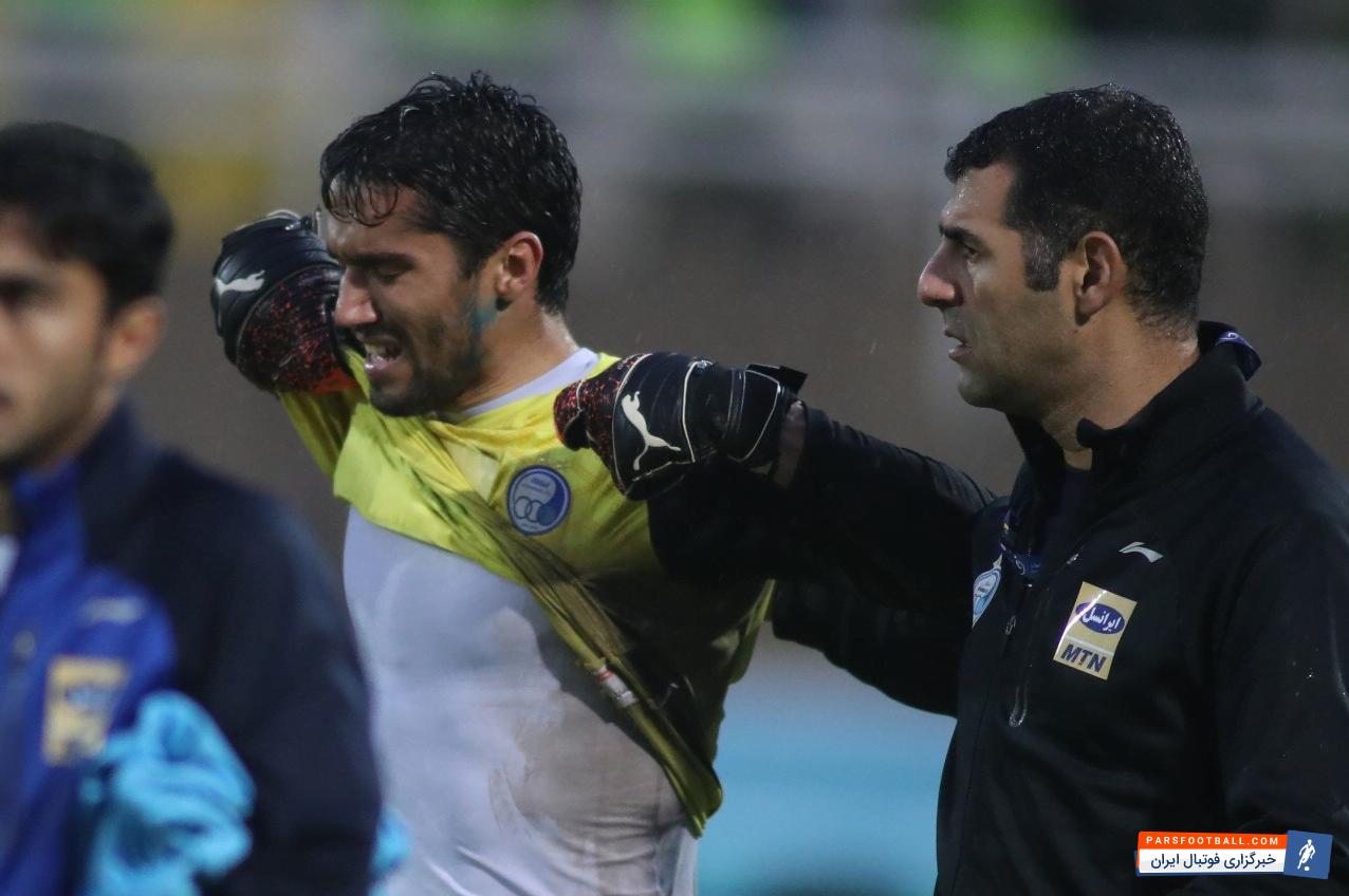 حسین حسینی و اشک ریختن بخاطر از دست دادن دربی ؛ واقعا نمیدانم چه بگویم!