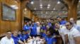 جشن تولد فرشید اسماعیلی ، هافبک خلاق استقلال در اردوی این تیم قبل از دیدار هفته بیست و چهارم با فولاد خوزستان با حضور بازیکنان و کادرفنی برگزار شد.