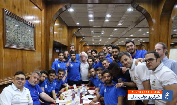 عکس ؛ جشن تولد فرشید اسماعیلی در اردوی اهواز