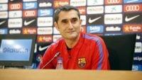 والورده ، سرمربی بارسلونا اسامی بازیکنان مدنظرش برای بازی خانگی با خیرونا را اعلام کرد