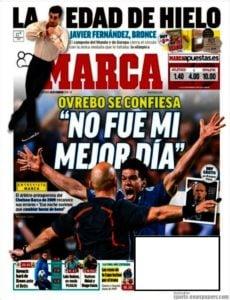 روزنامه مارکا اسپانیا ، یکشنبه ۱۸ فوریه ؛ روز خوب من نبود !