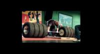 کلیپی جالب از مسابقات دد لیفت با چرخ های کامیون