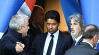 چهره گرفته و عصبی ناصر الخلیفی مالک باشگاه پاری سن ژرمن پس از باخت برابر رئال مادرید