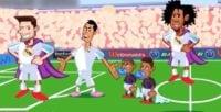 شکست سنگین پاری سن ژرمن از رئال مادرید