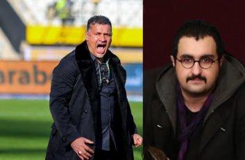 واکنش علی دایی به ادعای امیر حسام شجاعی در کنفرانس خبری پس از بازی سایپا سپیدرود