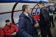 اخراج مربی ایبار در دیدار برابر بارسلونا