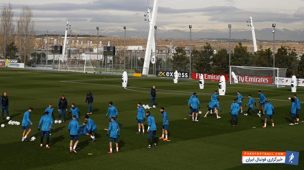 زیدان لیست رئال مادرید برای دیدار حساس برابر پاری سن ژرمن را اعلام کرد