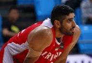 حرکت زیبا و جوانمردانه اصغر کاردوست در جریان دیدار بسکتبال دو تیم مهرام و شهرداری تبریز