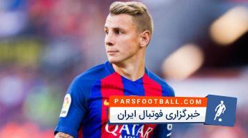 مهارت های دفاعی لوکاس دینیه مدافع تیم فوتبال بارسلونا در فصل 2017/2018