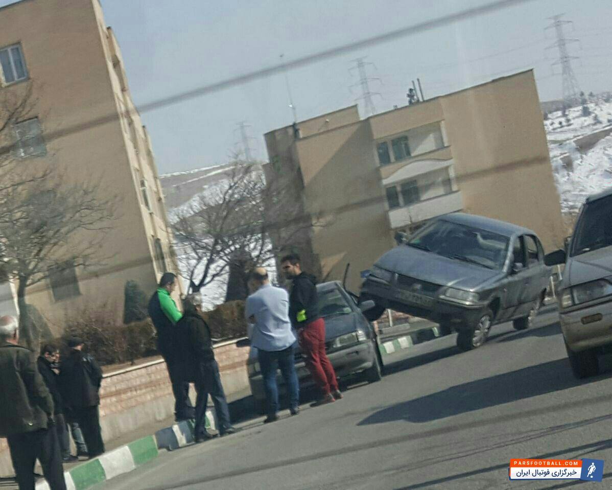 تصادف عجیب در خیابان های ایران