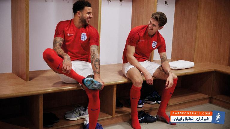 عکس ؛ از لباس های تیم ملی انگلیس در جام جهانی ۲۰۱۸ رونمایی شد