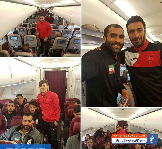 عکس؛سرخپوشان پرطرفدار با هم به قطر رفتند
