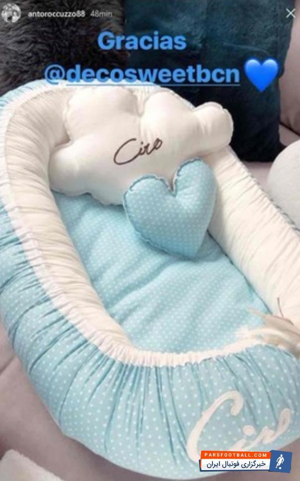 عکس ؛ جنسیت فرزند لیونل مسی مشخص شد ؛ لحظه شماری آنتونلا برای به دنیا آمدن سومین فرزندش!