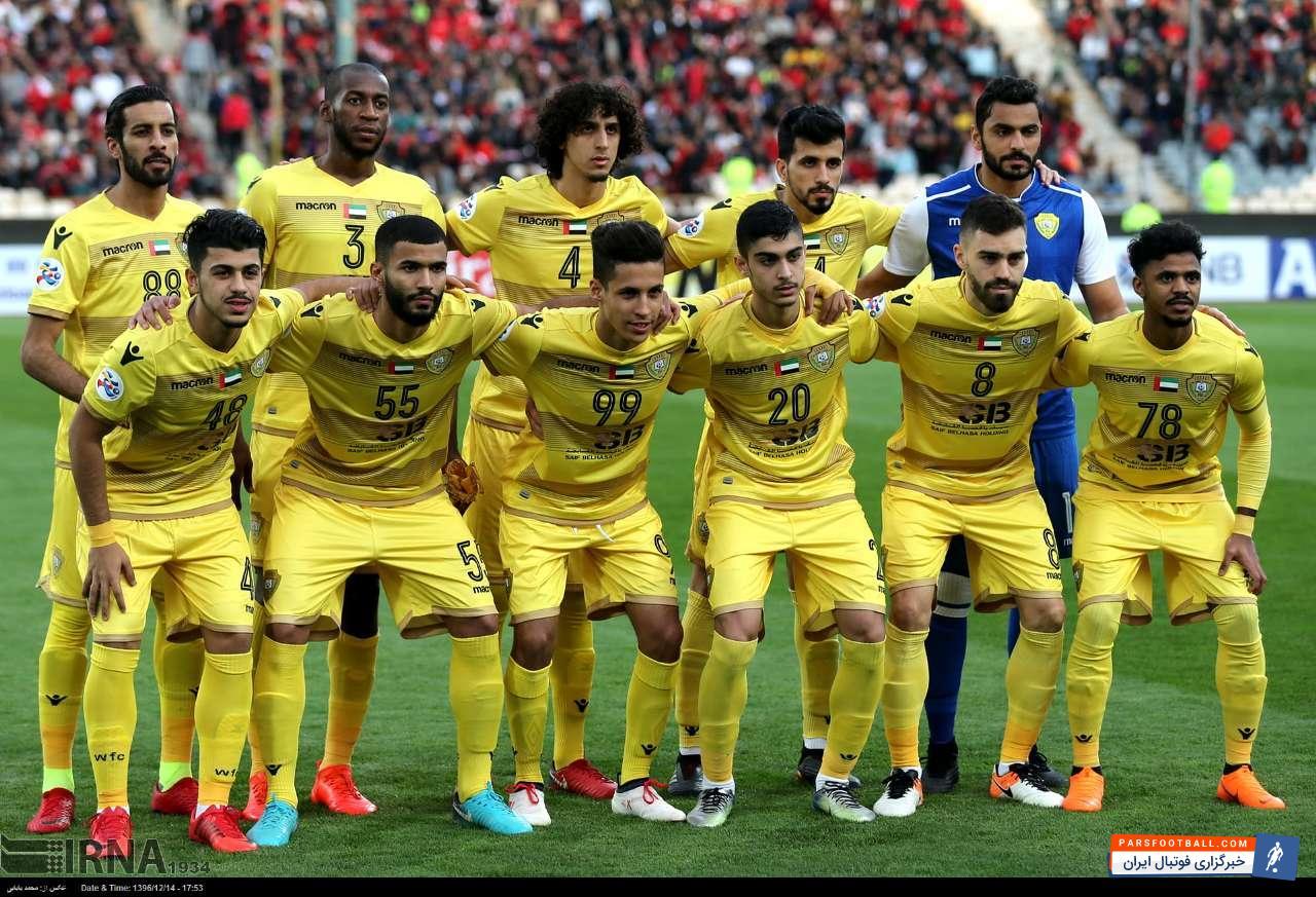 الوصل امارات و شادی هواداران پس از پیروزی این تیم مقابل الشباب در جام حذفی امارات