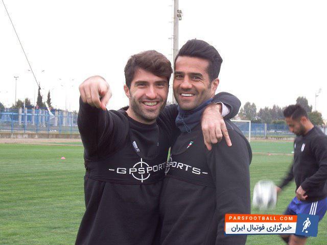 عکس؛ بازگشت شجاعی به تیم ملی