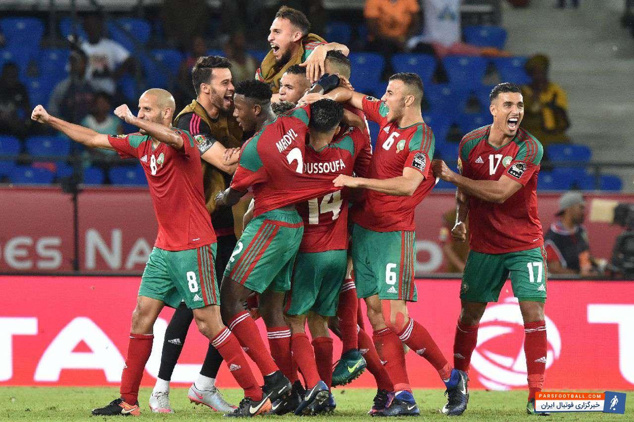 ایوب الکعبی ستاره مدنظر اتلتیکومادرید به تیم ملی مراکش دعو شد و در اردو حضور یافت