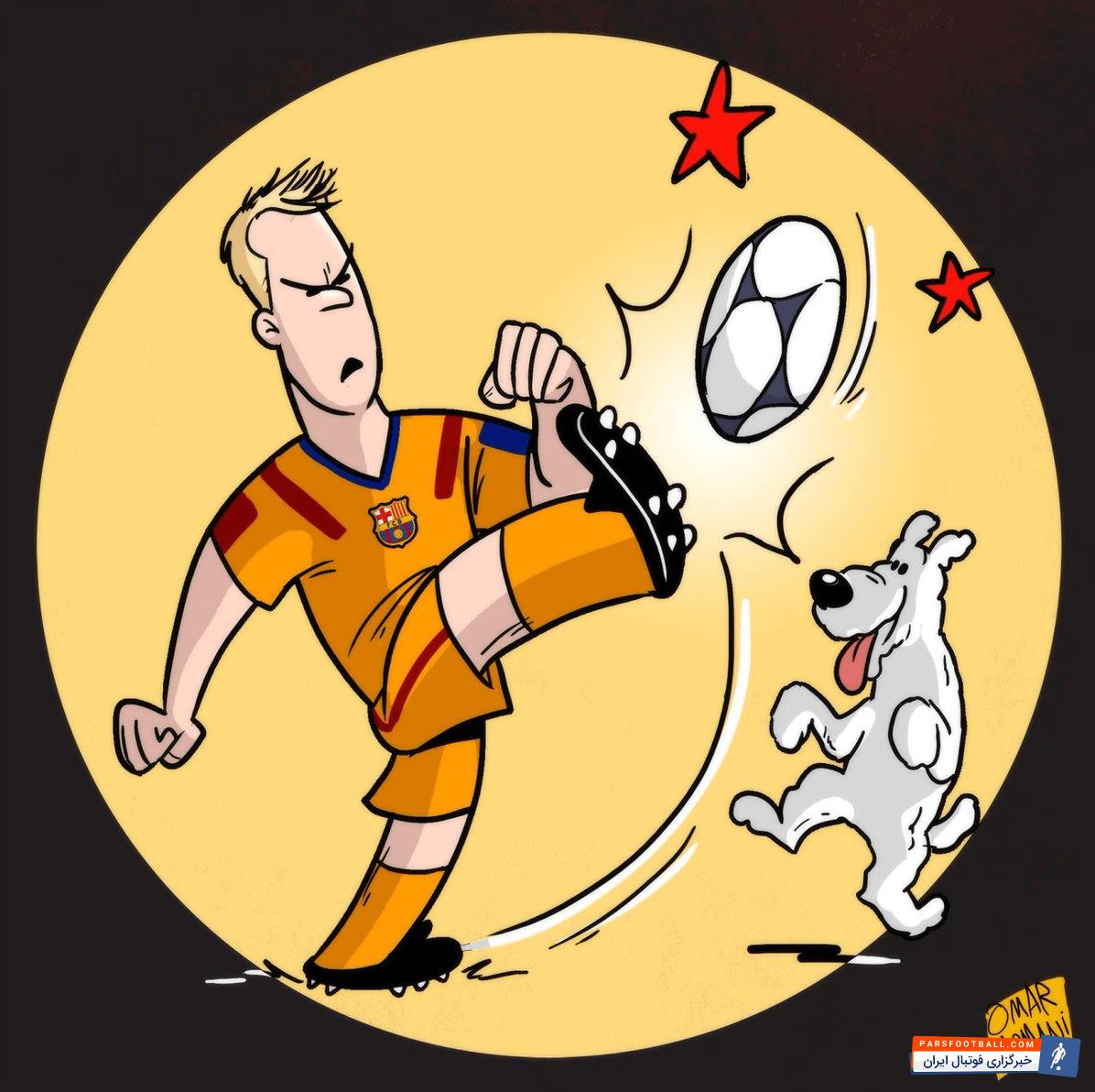 کاریکاتور ؛ تولد سه ستاره دنیای فوتبال در یک روز
